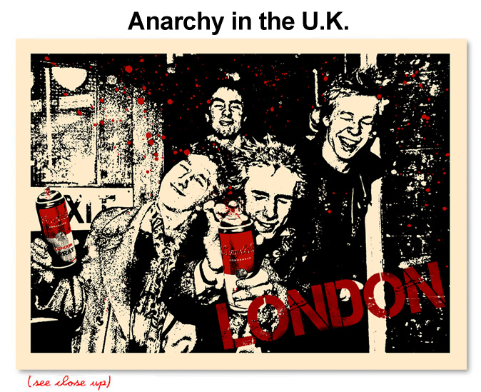 Title: Anarchy in the UK.