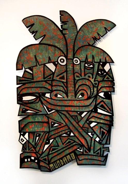 Mundano 'Liquen Vermelho' From The Lichen Art Show