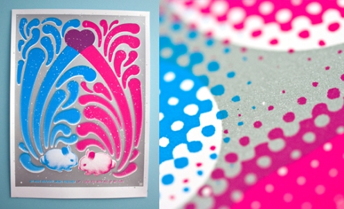 Ryan Brinkerhoff 'Bunny Farts' Edition of 25 Size: 18 x 22 Inches $25 Each