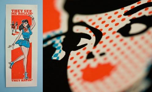 Ryan Brinkerhoff 'Rollin' Edition of 25 Size: 9 x 24 Inches $20 Each