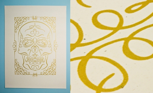 Ryan Brinkerhoff 'Skull' Edition of 25 Size: 19 x 25 Inches $20 Each