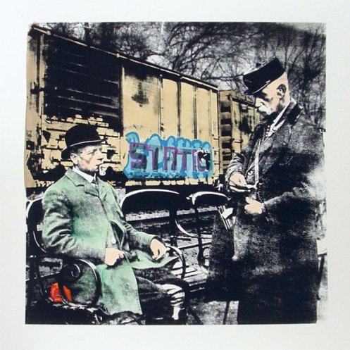 Static 'End Of The Line' Edition of 40 Size: 50 x 50 cm £75 Each