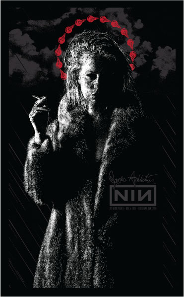 Todd Slater 'Nin/JA' Edition of 200 Size: 14.5 x 23.5 Inches $30 Each