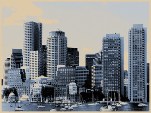 Aelhra 'Boston' On Wood Edition of 5 Size: 24 x 18 Inches $???