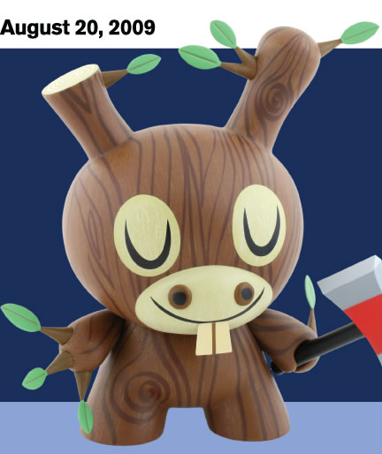 Amanda Visell 'Wood Donkey Dunny' Edition of 1500 Size: 8 Inches $75 Each