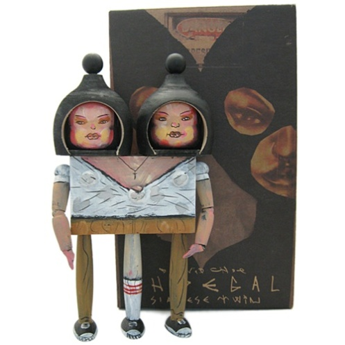 David Choe 'Choegal' Siamese Twin Edition of 500 Size: 8 Inches $65 Each
