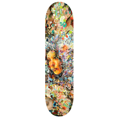 David Choe 'Fairey' Skate Deck Edition of 150 Size: 7.5 x 31 Inches $100 Each