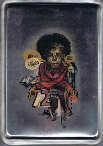 Elicser Elliott '1984' Mixed Media On Alluminum Size: 10 x 14 Inches $200 Each
