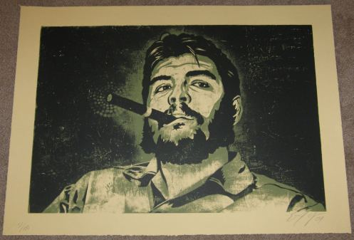 Ernesto Yerena 'Che' Green Edition of 100 Size: 31 x 22 Inches $100 Each