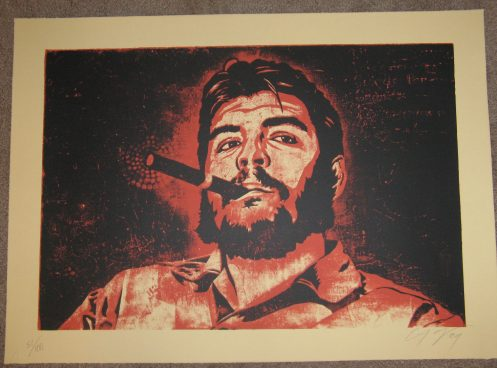 Ernesto Yerena 'Che' Red Edition of 100 Size: 31 x 22 Inches $100 Each