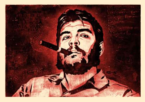 Ernesto Yerena 'Che' Red Edition of 100 Size: 28 x 22 Inches $100 Each