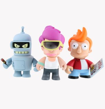 Kid Robot 'Futurama' Figures Size: 3 Inches $8.95 Each