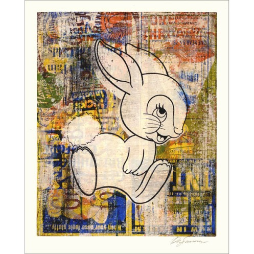 Lucky Bunny 'The White Rabbit' Edition of Size: 8 x 10 Inches $35 Each