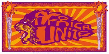 Malleus 'Africa Unite' Edition of 250 Size: 66 x 33 cm €25 Each