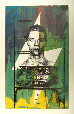 Matt Dye 'Bowie Metallic' Edition of 1 Size: 26 x 40 Inches $65 Each