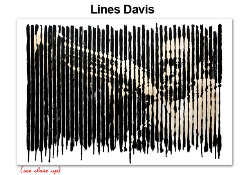 Mr Brainwash 'Lines Davis' Edition of 75 Size: 22 x 15 Inches $250 Each