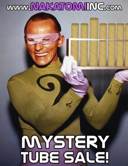 Nakatomi's 'Mystery Tube' Sale