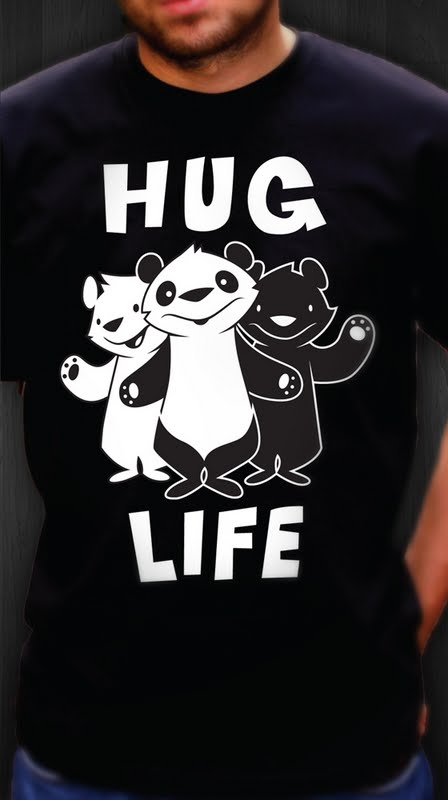 Philip Lumbang 'Hug Life' T-Shirt Is Available At Abztract $24 Each