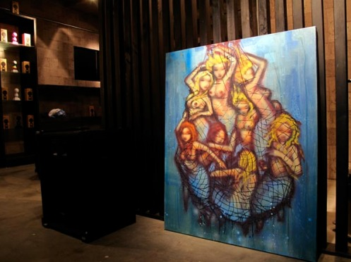 Mau Mau 'Mermaid' Canvas 2009 Japan