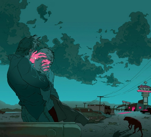 Tomer Hanuka 'Old Moab' Edition of 50 Size: 19 x 13 Inches $85 Each