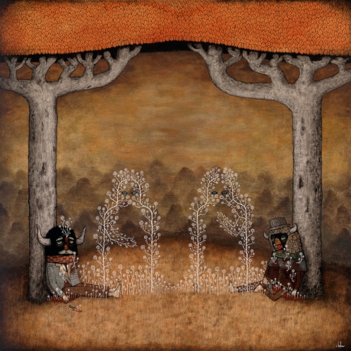 Andy Kehoe 'Old Enemies Reconcile Unseen' Edition of 50 Size: 22 x 22 Inches $135 Each