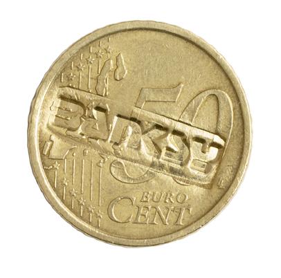 BA5H Banksy Coin Close Up