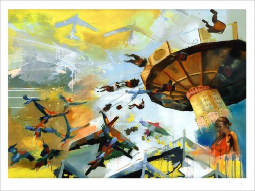 Chloe Early 'Airbourne' Edition of 100 Size: 24 x 18 Inches $15 Each