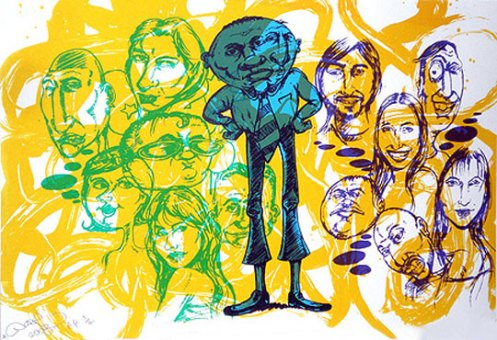 Chris Daze Ellis 'Sketchbook #3' Edition of 40 Size: 21 x 14 Inches $300 Each
