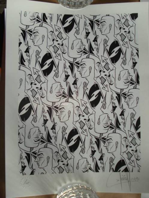 Dave Kinsey 'Prescher' Print Preview