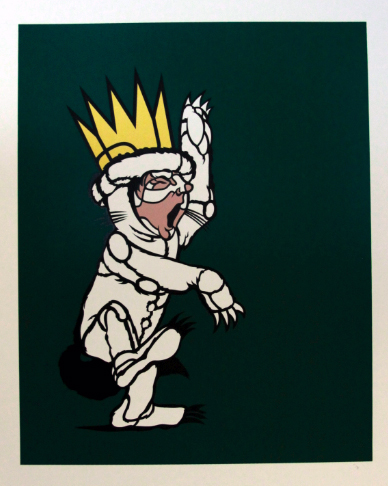 David Flores 'Max' Green Gold Edition of 30 Size: 18 x 24 Inches $55 Each