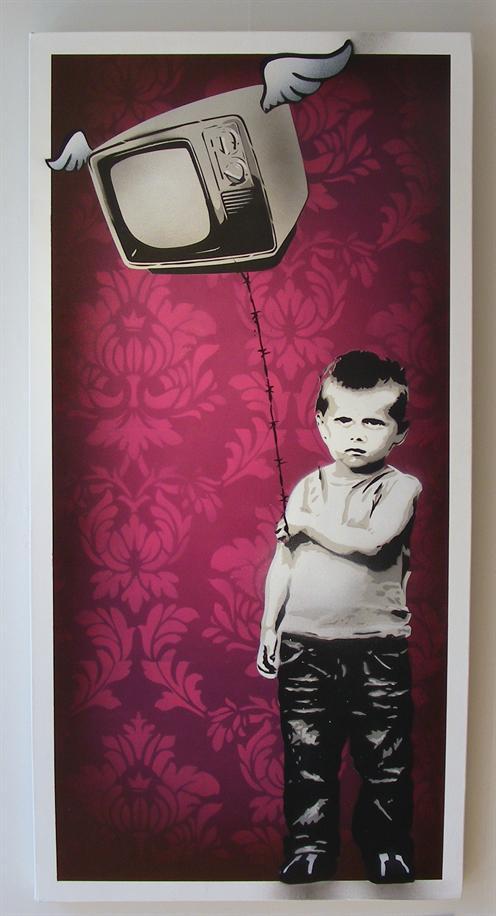 Eyesaw 'Switch Off' Edition of 8 Size: 50 x 100 cm £250 Each