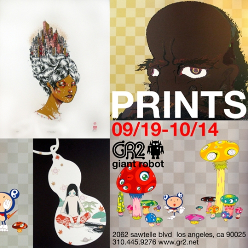 GR2 Prints From The Flat File Show Featuring Dave Choe, Murakami,