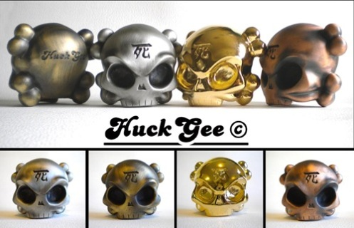 Huck Gee + Fully Visual 'Skullheads' Edition of 100 Size: Baseball $130 Each
