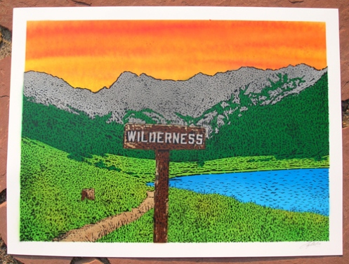 Ian Millard 'Wilderness' Sunset Edition of 25 Size: 24 x 18 Inches $75 Each