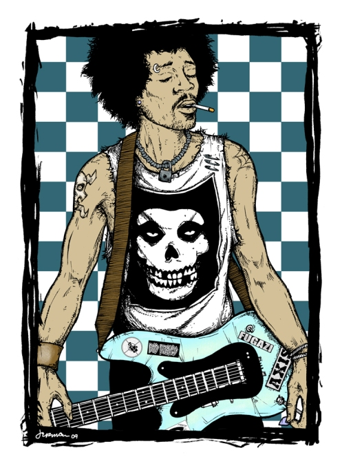 Jermaine Rogers 'Afro-Punk' Edition Size: 18 x 25 Inches $75 Each