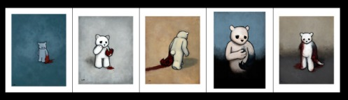 Luke Chueh 'Evolution Of A South Paw' Edition of 150 Size: 9 x 12 Inches $350 Each