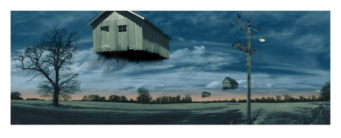 Mark Brabant 'Off The Grid' Edition of 200 Size: 13 x 32 Inches $40 Each