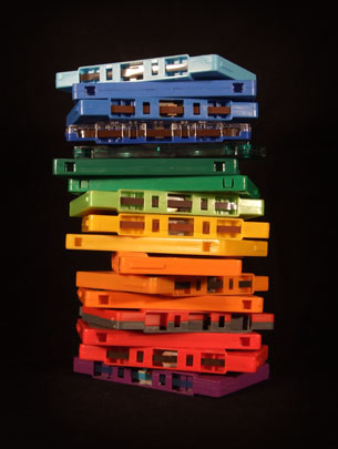 Matt Whitwell 'Cassette Rainbow' Available In 2 Sizes €29-€59 Each