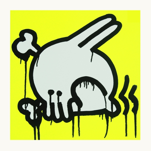 Nomad 'Skullbunny' Yellow Edition of 75 Size: 55 x 55 cm £75 Each