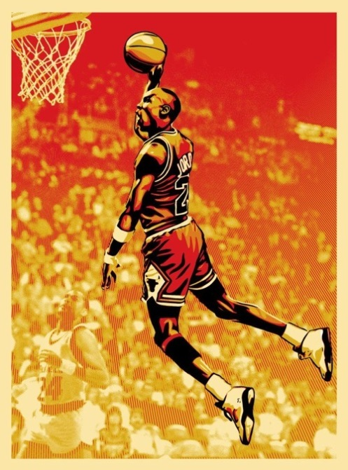 Obey 'Michael Jordan' Upper Deck Print Update