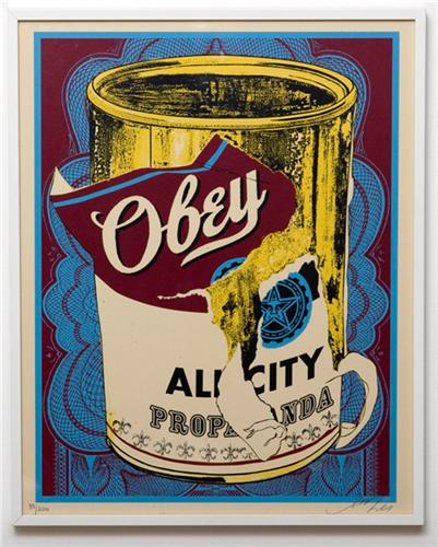 Shepard Fairey Obey 'Soup Can' 3 Release Info