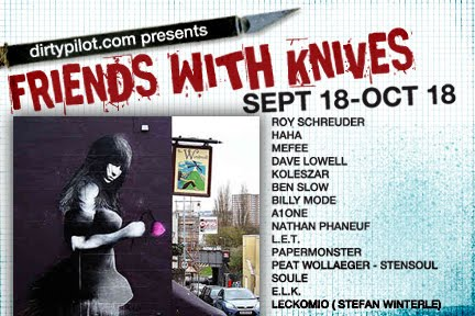 DirtyPilot + Papermonster Present 'Friends With Knives'