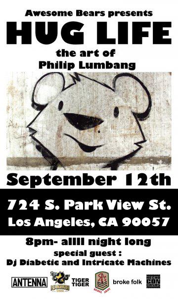 Philip Lumbang 'Hug Life' Art Show