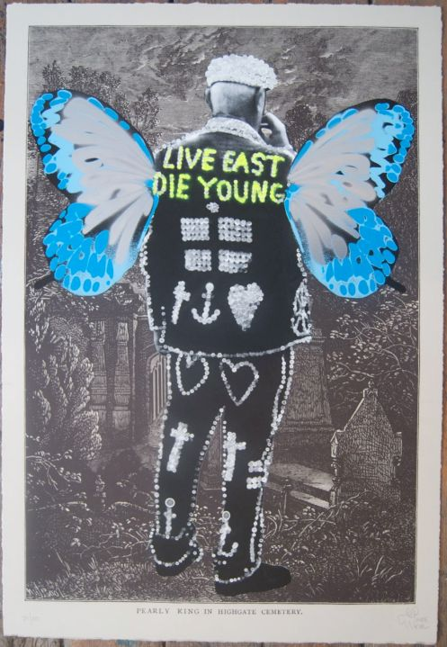 Pure Evil 'Pearly King' Edition of 100 Size: 50 x 74 cm £150 Each