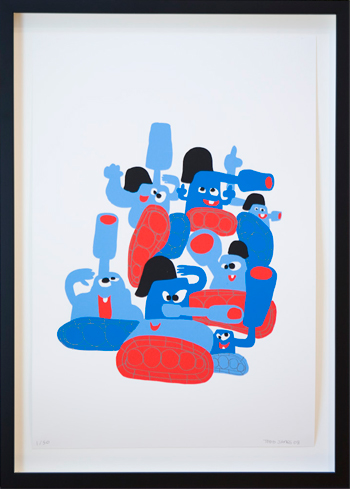 'Pile Of Tanks' Edition of 50 Size: 38 x 56 cm 200€