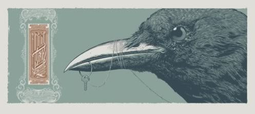 Aaron Horkey 'Bon Iver' Regular Edition of Size: 10.5 x 23.5 Inches $125 Each