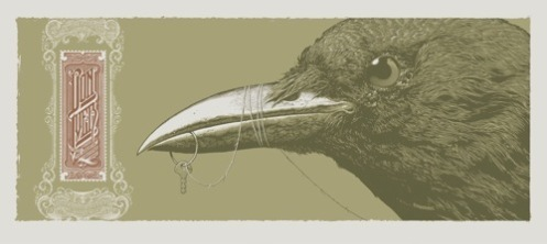 Aaron Horkey 'Bon Iver' Variant Edition of 25 Size: 10.5 x 23.5 Inches $250 Each