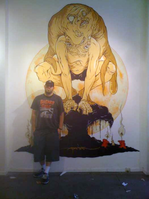 Alex Pardee G1988 Installation Sneak Peak