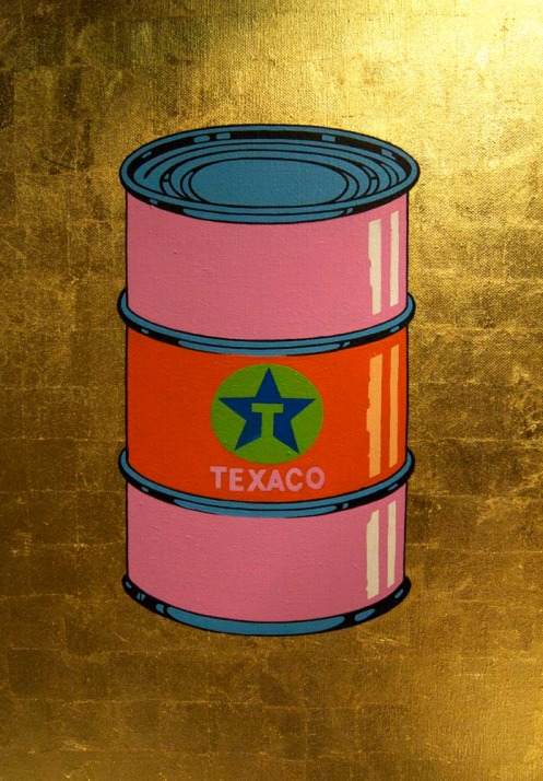 Beejoir 'Oil Can' Canvas Edition of