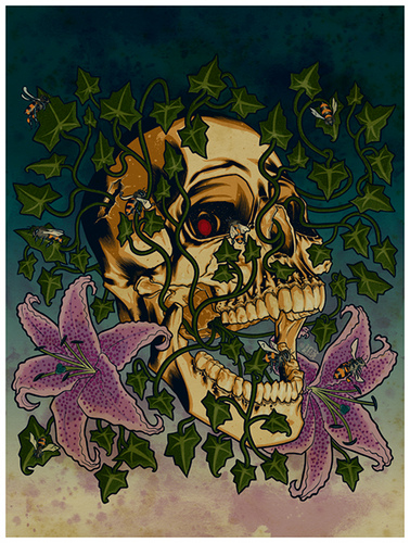 Brian Ewing 'Dead Spring' Edition of 25 Size: 18 x 24 Inches